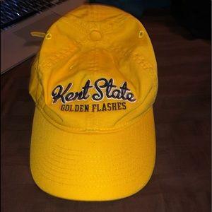 Two Kent State University Baseball Caps